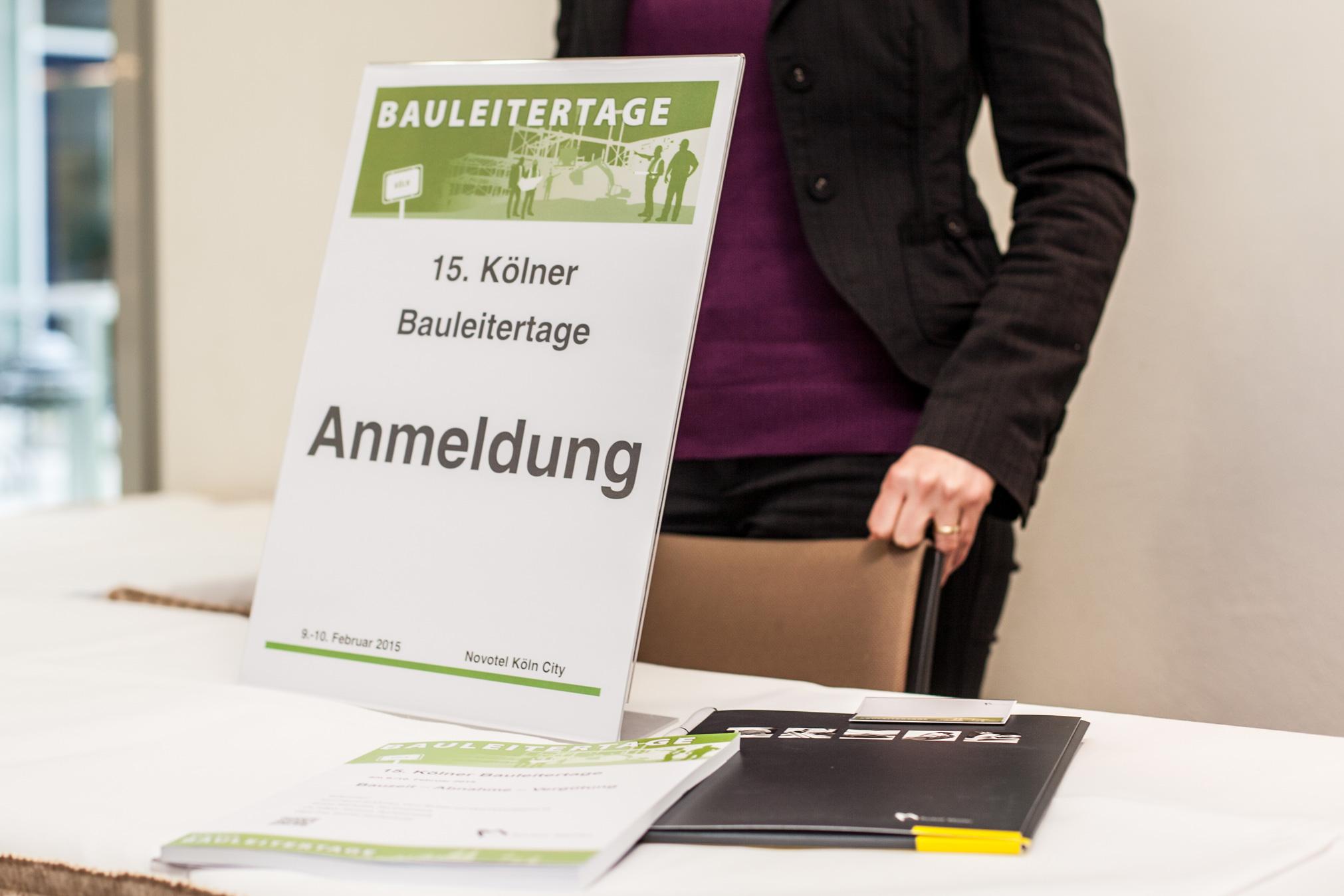 Anmeldestand Kölner Bauleitertage