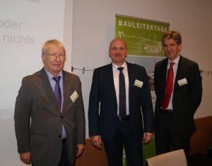 Das Referententeam: Karl-Heinz Keldungs, Goetz Michaelis, Dr. Edgar Joussen